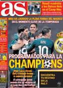 Portada diario AS del 9 de Marzo de 2013