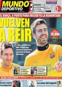 Portada Mundo Deportivo del 9 de Marzo de 2013