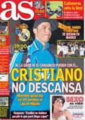 Portada diario AS del 10 de Marzo de 2013