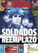Portada diario Marca del 10 de Marzo de 2013