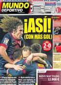 Portada Mundo Deportivo del 10 de Marzo de 2013