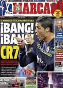 Portada diario Marca del 11 de Marzo de 2013