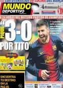 Portada Mundo Deportivo del 11 de Marzo de 2013