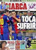 Portada diario Marca del 12 de Marzo de 2013