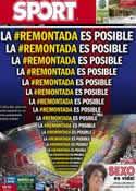 Portada diario Sport del 12 de Marzo de 2013