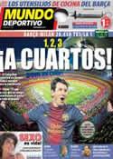 Portada Mundo Deportivo del 12 de Marzo de 2013
