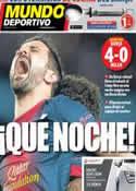 Portada Mundo Deportivo del 13 de Marzo de 2013