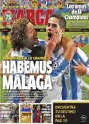 Portada diario Marca del 14 de Marzo de 2013