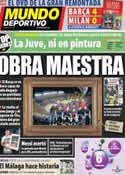 Portada Mundo Deportivo del 14 de Marzo de 2013