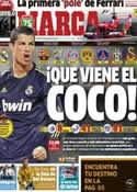 Portada diario Marca del 15 de Marzo de 2013