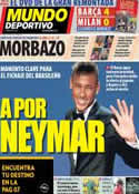 Portada Mundo Deportivo del 15 de Marzo de 2013