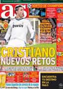 Portada diario AS del 16 de Marzo de 2013