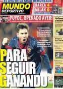 Portada diario Sport del 16 de Marzo de 2013
