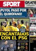 Portada Mundo Deportivo del 16 de Marzo de 2013