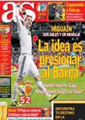 Portada diario AS del 17 de Marzo de 2013