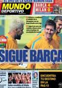 Portada Mundo Deportivo del 17 de Marzo de 2013