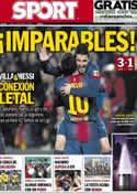 Portada diario Sport del 18 de Marzo de 2013