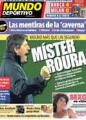 Portada Mundo Deportivo del 19 de Marzo de 2013