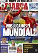Portada diario Marca del 20 de Marzo de 2013