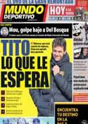 Portada Mundo Deportivo del 20 de Marzo de 2013