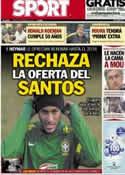 Portada diario Sport del 21 de Marzo de 2013