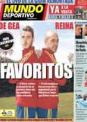 Portada Mundo Deportivo del 21 de Marzo de 2013