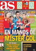 Portada diario AS del 22 de Marzo de 2013