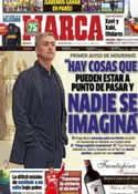 Portada diario Marca del 24 de Marzo de 2013