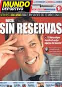 Portada Mundo Deportivo del 24 de Marzo de 2013