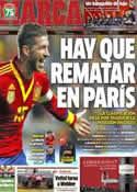 Portada diario Marca del 25 de Marzo de 2013