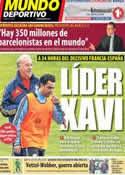 Portada Mundo Deportivo del 25 de Marzo de 2013