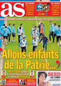 Portada diario AS del 26 de Marzo de 2013