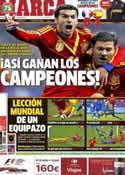 Portada diario Marca del 27 de Marzo de 2013