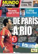 Portada Mundo Deportivo del 27 de Marzo de 2013