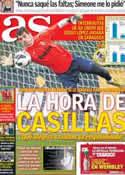 Portada diario AS del 28 de Marzo de 2013