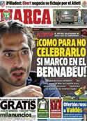 Portada diario Marca del 28 de Marzo de 2013