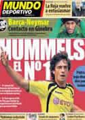 Portada Mundo Deportivo del 28 de Marzo de 2013