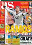 Portada diario AS del 29 de Marzo de 2013