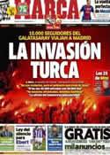 Portada diario Marca del 29 de Marzo de 2013