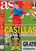 Portada diario AS del 30 de Marzo de 2013