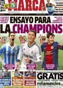 Portada diario Marca del 30 de Marzo de 2013