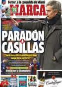Portada diario Marca del 31 de Marzo de 2013
