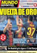 Portada Mundo Deportivo del 31 de Marzo de 2013