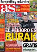Portada diario AS del 1 de Abril de 2013