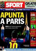 Portada diario Sport del 1 de Abril de 2013