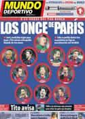 Portada Mundo Deportivo del 1 de Abril de 2013