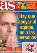 Portada diario AS del 3 de Abril de 2013