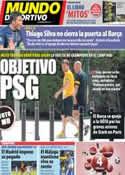 Portada Mundo Deportivo del 4 de Abril de 2013