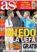 Portada diario AS del 5 de Abril de 2013