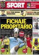 Portada diario Sport del 5 de Abril de 2013
